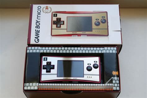 gameboy micro gbc mode limited edition gameboy micro happy mario 20 year