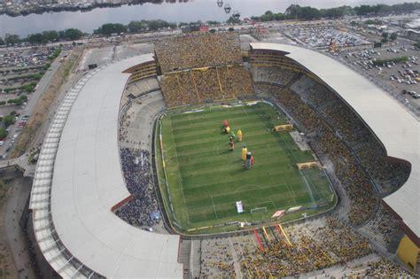 El Estadio Monumental Isidro Romero Carbo De Guayaquil | estadio monumental isidro romero carbo el mejor estadio