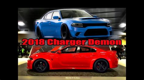 charger demon 2018 im ordering a 2018 charger demon youtube
