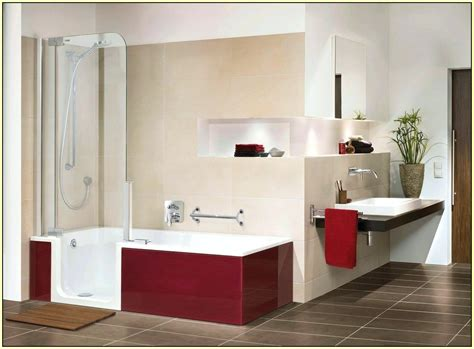 bathroom with tub shower combo decoration bathtub and shower combination