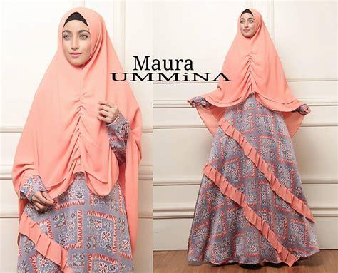 Gifty By Maura Nyaman Dipakai maura by ummina baju gamis bahan maxmara platinum mix