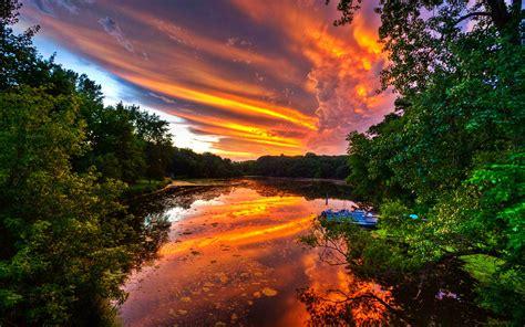 beautiful picture dream spring beautiful sunset