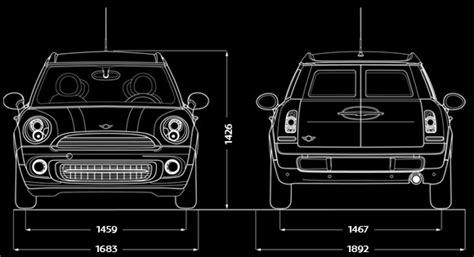 Mini Cooper Roof Dimensions Mini It Mini Cooper D Clubman Informazioni Tecniche Auto