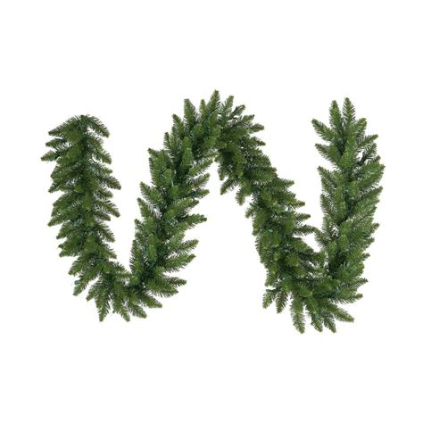 shop vickerman indoor outdoor 50 ft l camden fir garland