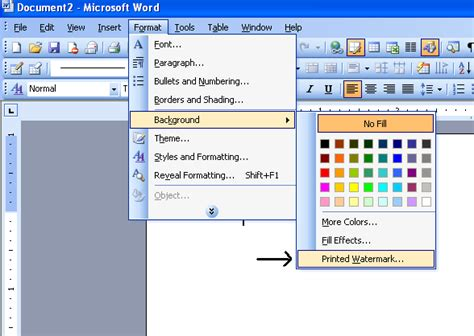 word change table background color c 225 ch th 234 m x 243 a bỏ watermark đ 243 ng dấu trong word 2003 2007