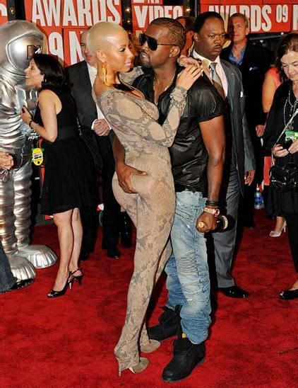 kanye west slams ex amber rose pretty much confirms amber rose says kanye west didn t make her famous home