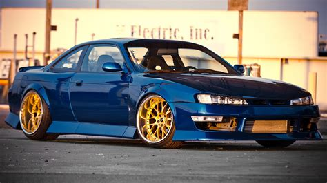 remodeled cers nissan s14 silvia tuning vehicles cars roads wheels rims