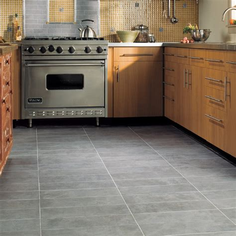 gray tile kitchen floor kitchen floor eclectic wall and floor tile