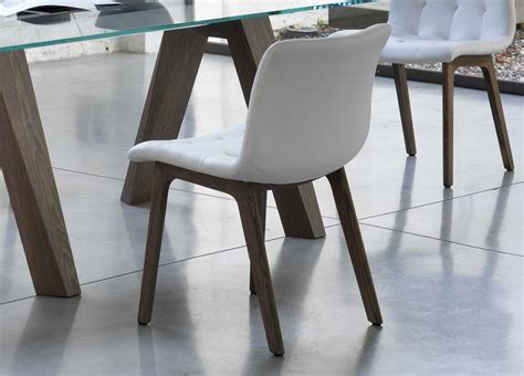 Bontempi Casa Kuga Dining Chair (Wood)   Bontempi