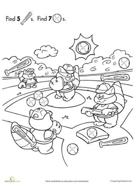 printable sports hidden pictures 17 best images about tot preschool ball sports theme