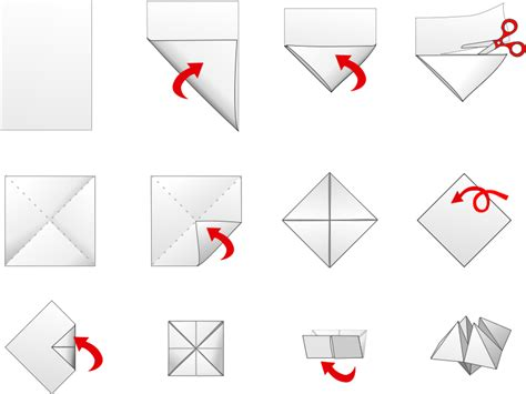 Origami Fortune Teller History - file fortuneteller mgx svg wikimedia commons