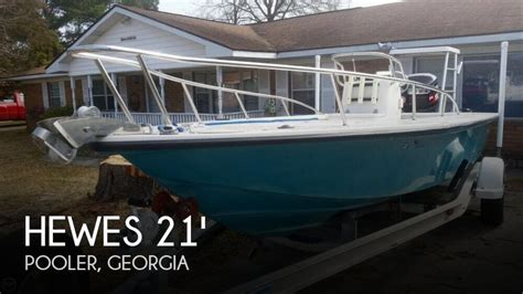 flats boats for sale in georgia sold hewescraft 21 light tackle boat in pooler ga 095802
