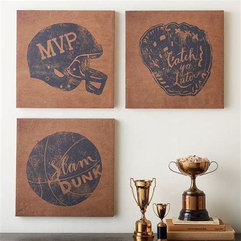25 best ideas about vintage sports decor on