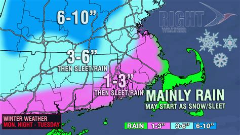 snow forecast map updated snow accumulation map monday into tuesday right weather