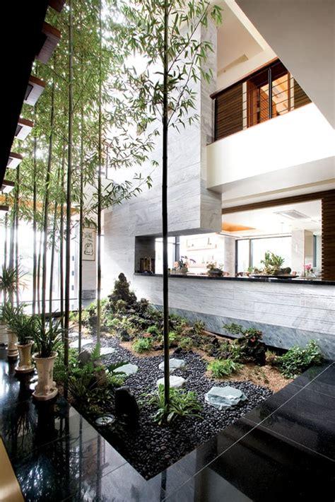 sensational interior courtyard garden ideas