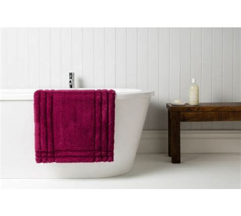 raspberry bathroom accessories buy medium bath mat raspberry at argos co uk