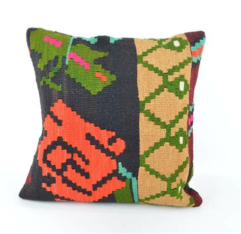 Bohemian Throw Pillows by Kilim Throw Pillow Kilim Bohemian Decor Throw Pillow