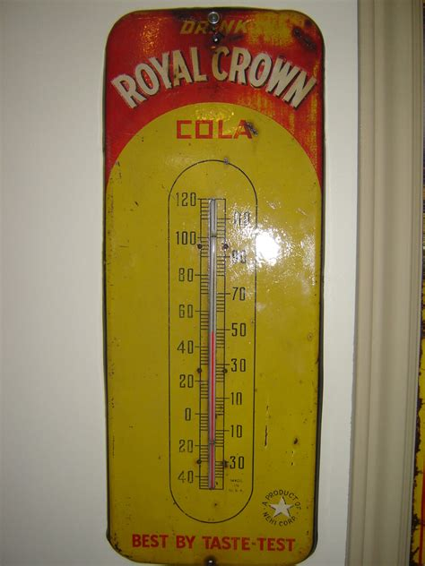 Termometer Crown royal crown thermometer collectors weekly
