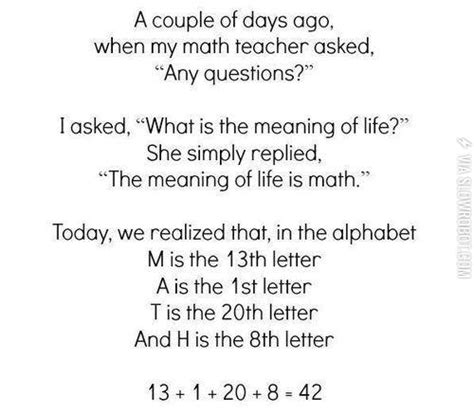 biography the definition the meaning of life is math