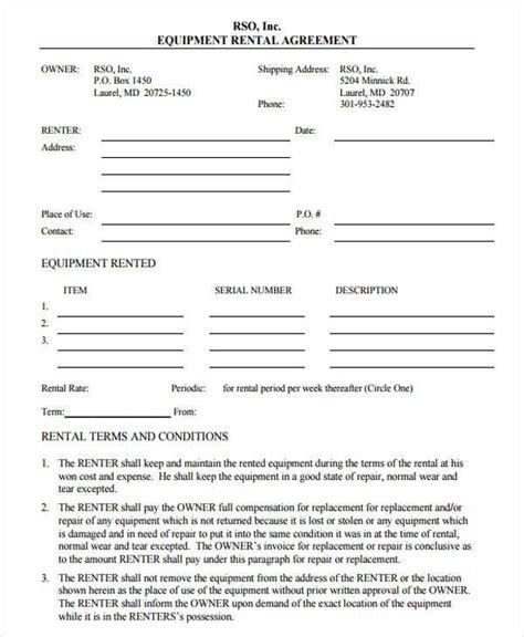 39 Printable Lease Agreements Sle Templates Food Truck Lease Agreement Template