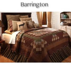 Country Quilts And Comforters Barrington Quilt Bedding Collection In Nature Inspired