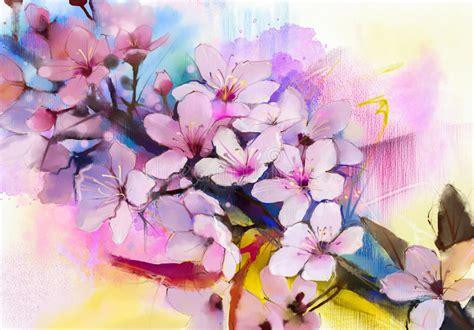 fiori di ciliegia fiori di ciliegia della pittura dell acquerello ciliegia