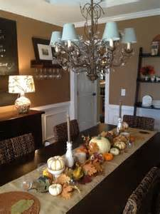 Decorated Dining Rooms 30 Beautiful And Cozy Fall Dining Room D 233 Cor Ideas Digsdigs