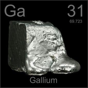 californium number of protons 31 gallium atomos atomos