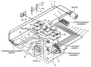 48 volt club car battery wiring diagram get free image