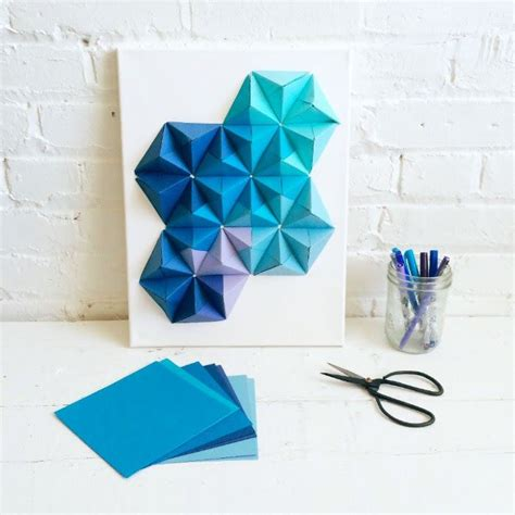 Easy Origami Decorations - best 25 origami wall ideas on