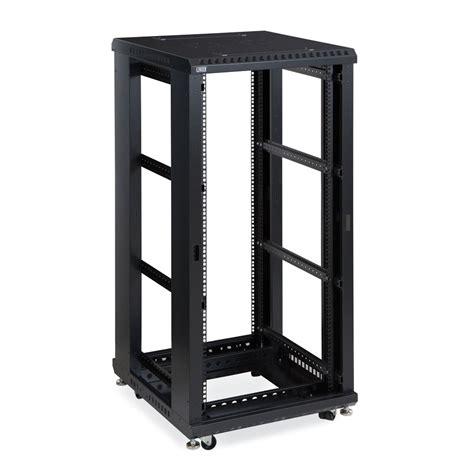 No Racks by 27u Linier Server Cabinet Open Frame No Doors 24 Quot Depth