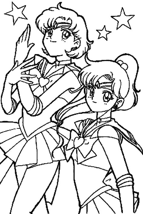 sailor moon printable coloring pages coloring home