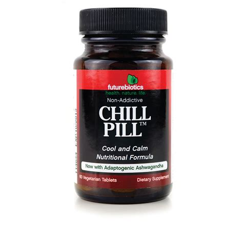 Chill Pills futurebiotics chill pill 60 veg tabs swanson 174
