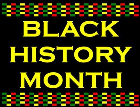 Happy Black History Month by The Journal Happy Black History Month