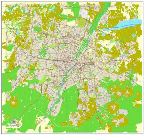 free vector map 2 munich m 252 nchen germany printable vector map