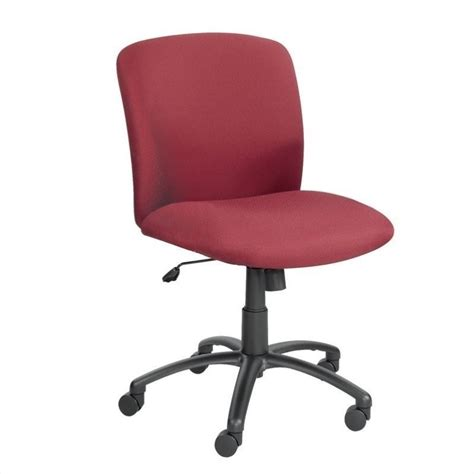 Big And Office Chair by Big And Mid Back Task Office Chair In Burgundy 3491bg