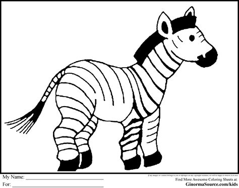 coloring pages animals zebra zoo animal coloring pages 2 animal pictures to color