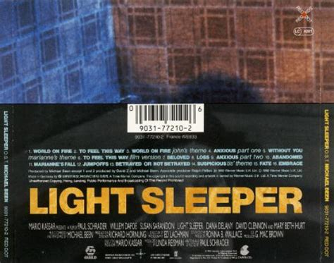 ost light sleeper gt soundtracks