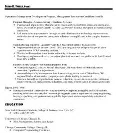 Sle Resume For Project Manager by Resume Sales Lewesmr