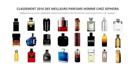 Parfum Sephora classement 2016 des meilleurs parfums homme chez sephora