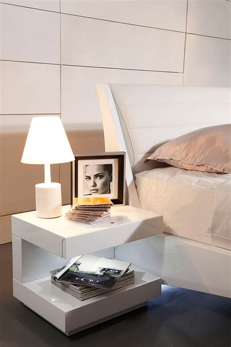 white night stands bedroom modern nightstands white modern nightstand west elm west
