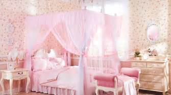 Pink Bed Canopy The Vanity Room Feminine Room Decor