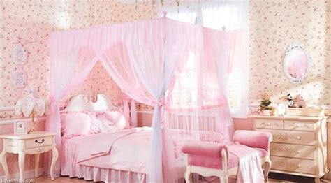 Pink Canopy Bed The Vanity Room Feminine Room Decor