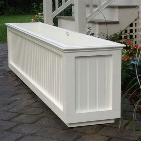 Trough Planter Boxes by Nantucket Trough Planter Window Boxes