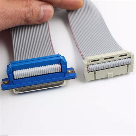 Db 25 Cable supply d sub connector hoods db25 25pins idc crimp connector flat ribbon cable buy d