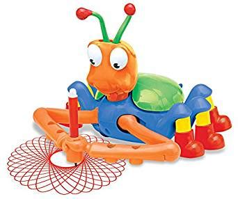doodlebug spiral drawing robot world tech toys doodle bug spiral drawing