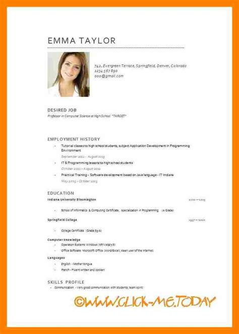 3 international cv format pdf sephora resume