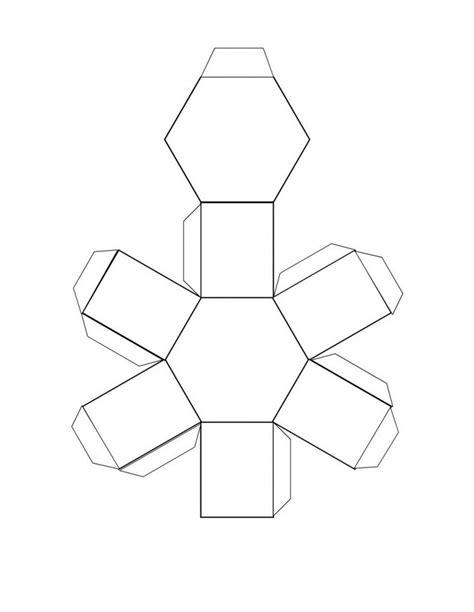 printable 3d net shapes free free printable 3d shape nets learning printable