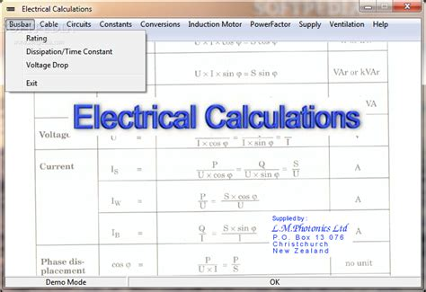 electrical wire calculator electrical calculations