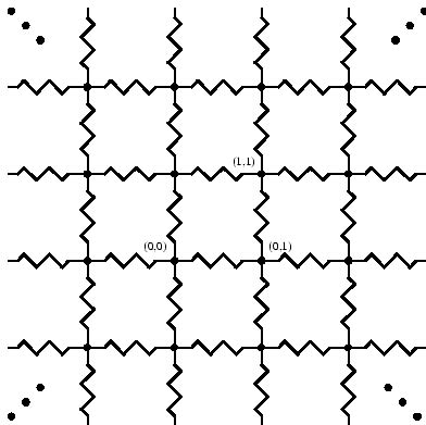 lattice resistor network lattice resistor network 28 images lattice network interstitial single resistor in a